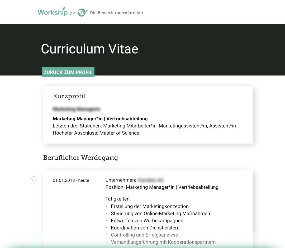 Workship Profil